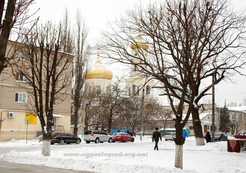 Павлоград церковь