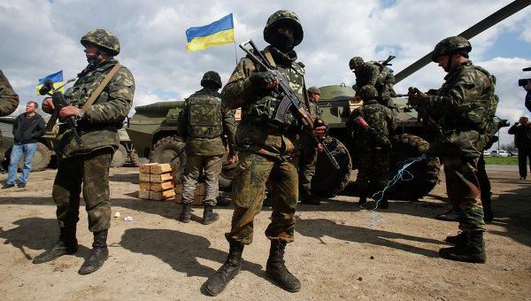 Вооружение украинской армии 2014
