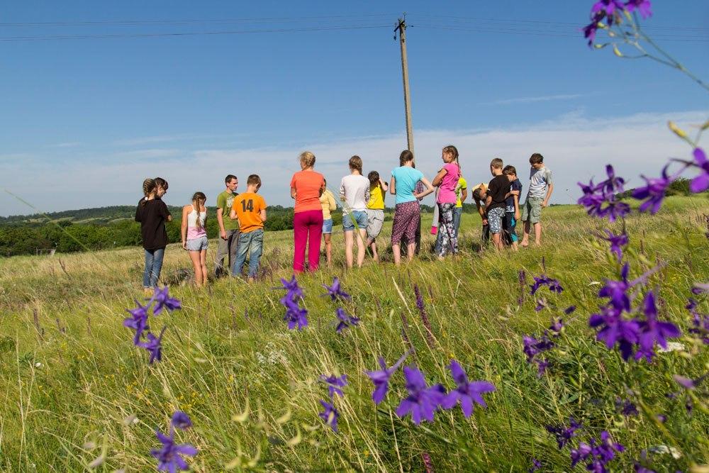 детский лагерь в Днепропетровской области