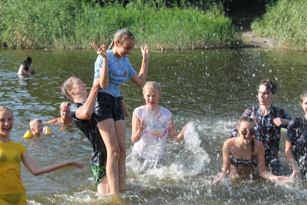 водная битва фото
