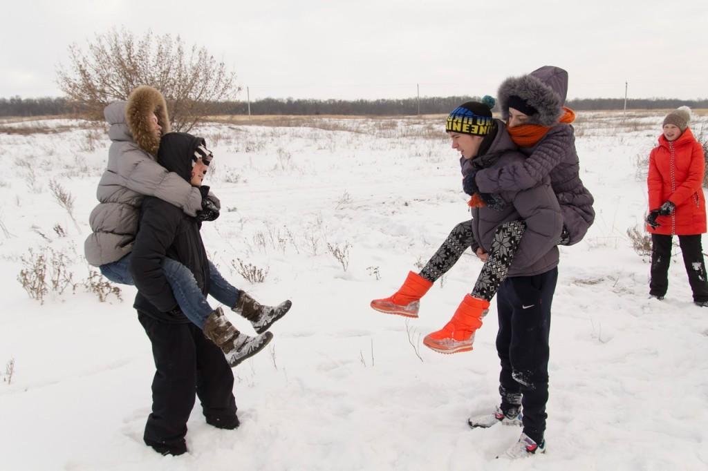 зимний лагерь для детей