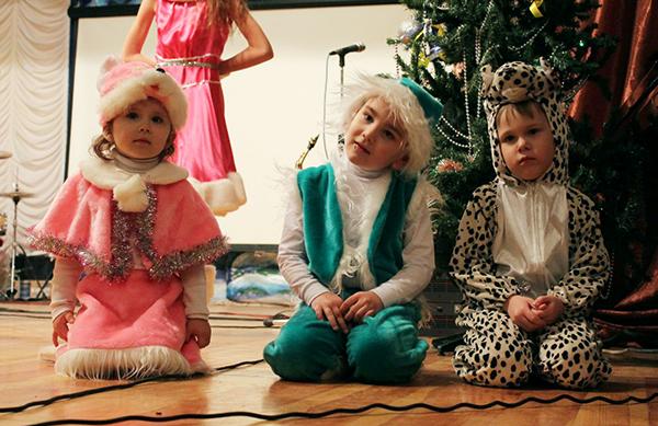 Рождество Христово в церкви