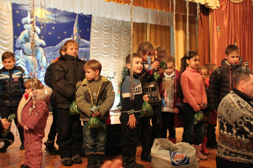 праздник Рождества в церкви