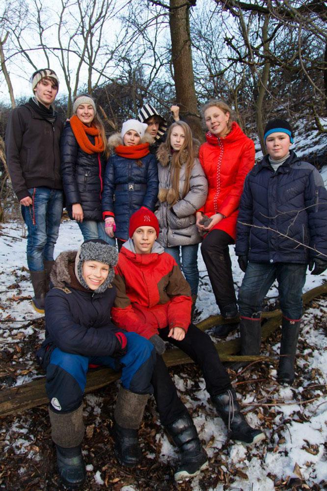 Зимний лагерь для подростков 2016