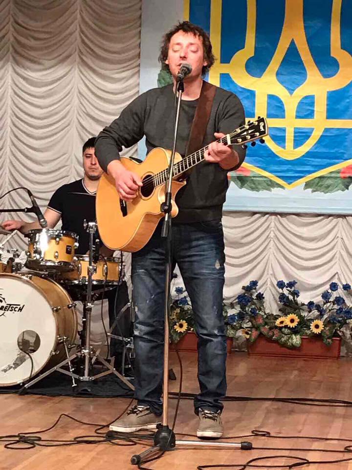 Музыкант Роман Иванько