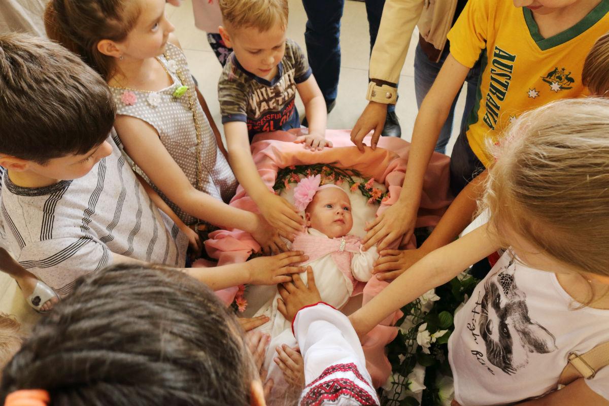 благословение ребенка